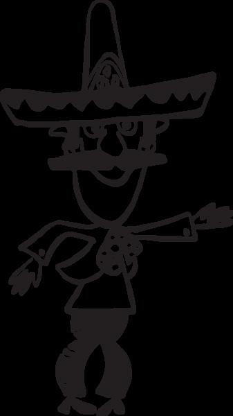 170ca Cartoon Mexican Man Mexican Men Cartoon Artist Signatures