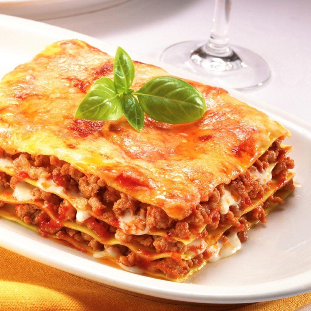 lasagna kcal
