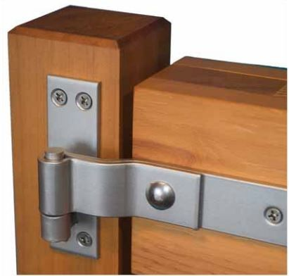 16 Stainless Steel 316 Grade Heavy Duty Strap Hinges Pair
