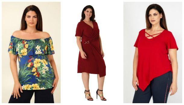 00265b80888b Γυναικεία Plus size ρούχα Parabita για το καλοκαίρι από 10€!