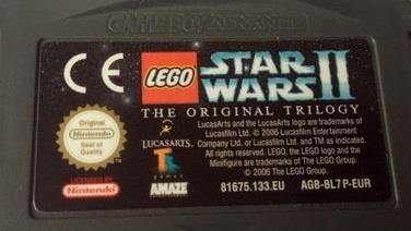 Star Wars II The Original Trilogy - Gameboy Advance