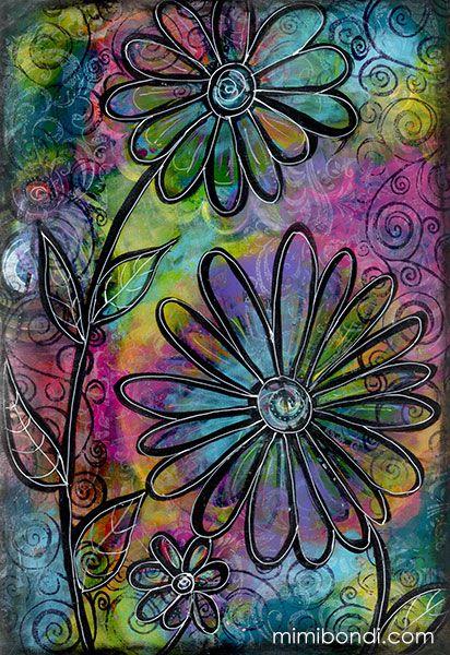 Art Journaling Mimi Bondi