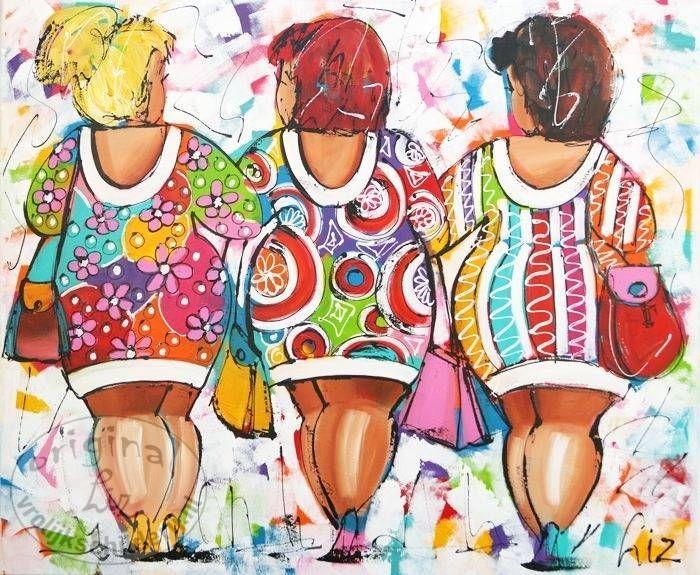 Ongekend Afbeeldingsresultaat voor dikke dames schilderijen susan ruiter HJ-31
