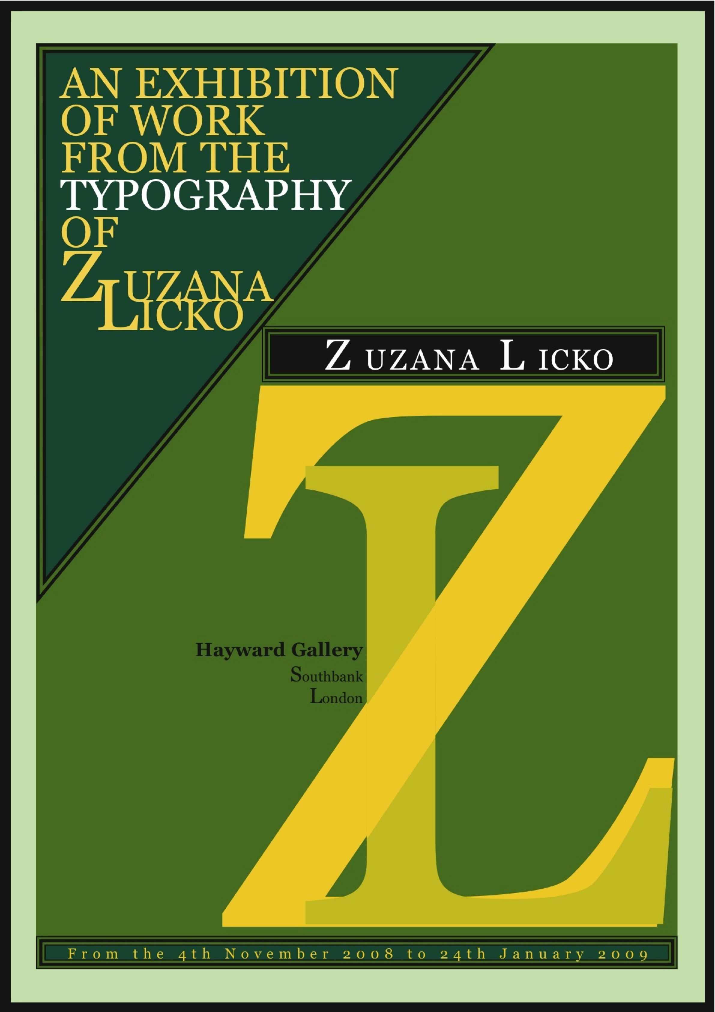 Image result for zuzana licko post modern posters | Post