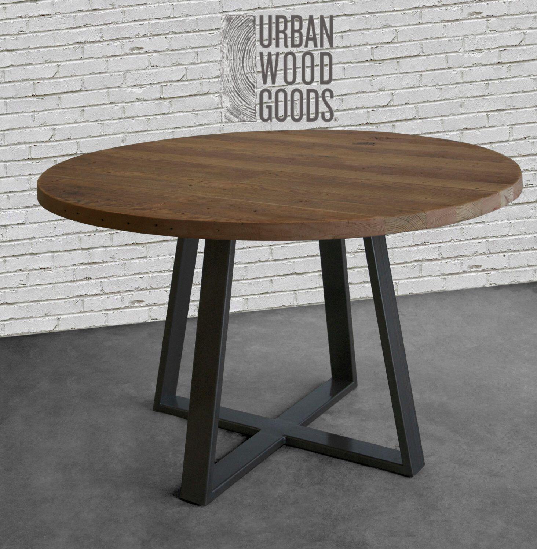 Modern Farmhouse Round Wood Coffee Table Affiliate Modern