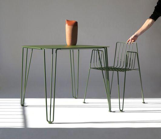 La mesa y silla Rambla de Mobles114 es la novedad de este año de