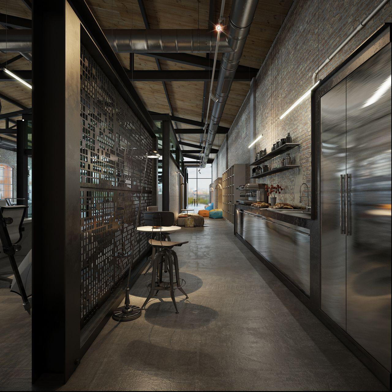 OFFICE DESIGN   Loft IT Office Interior Design   3DTotal Forums