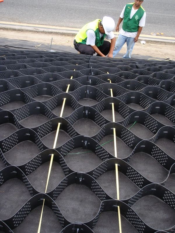 Geoweb Slope Protection Installation Slope Protection