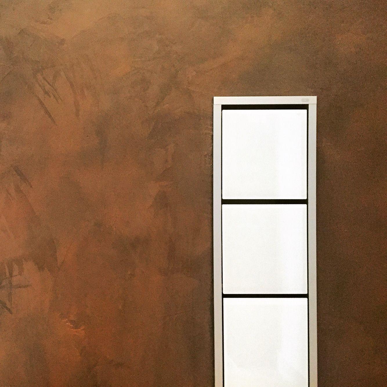 Rost Kupfer Fugenlos Schoner Wohnen Wandgestaltung Wand