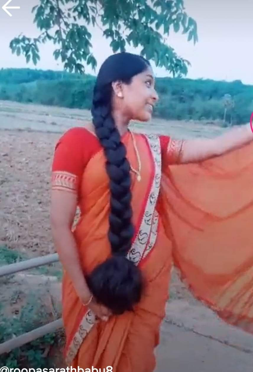 Thick Braided And Beautiful Long Indian Hair Long Silky Hair Indian Long Hair Braid