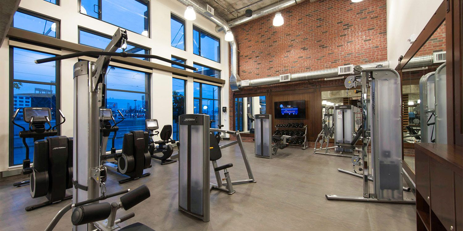 Awesome Fitness Center Channel Sanfran Apartments Apartment Corporate Housing Workout Rooms