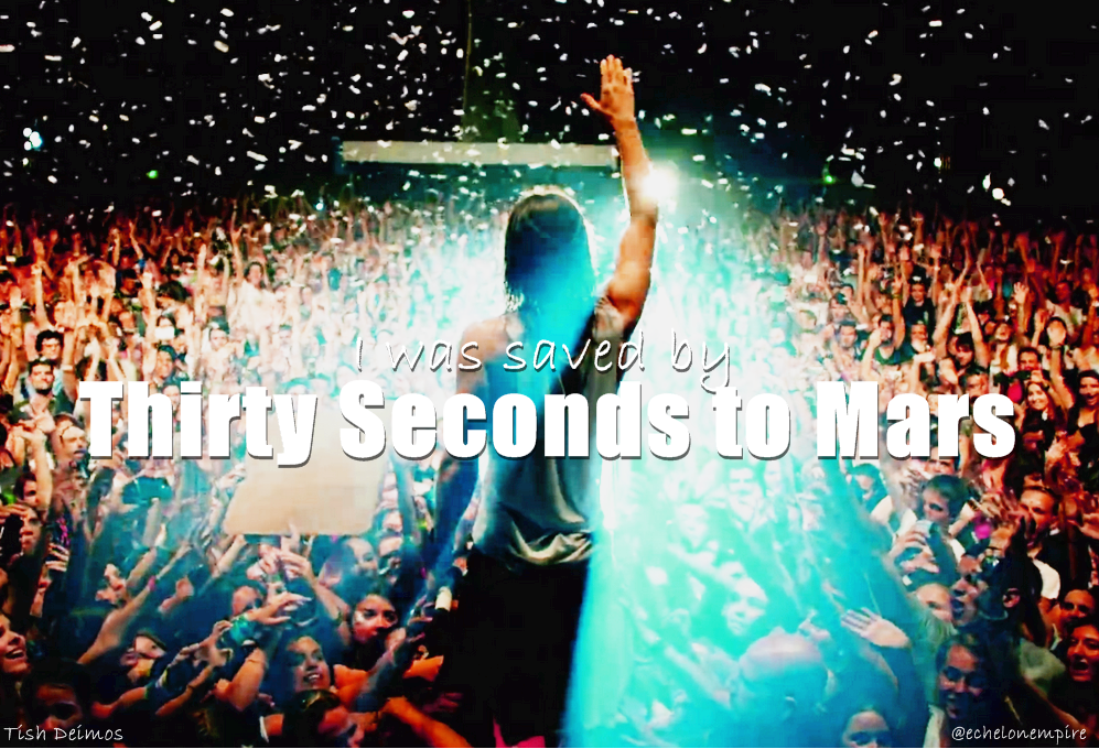 This is a quote that only the #Echelon understand. Edited by @tishdeimos for @30SECONDSTOMARS #MARSart