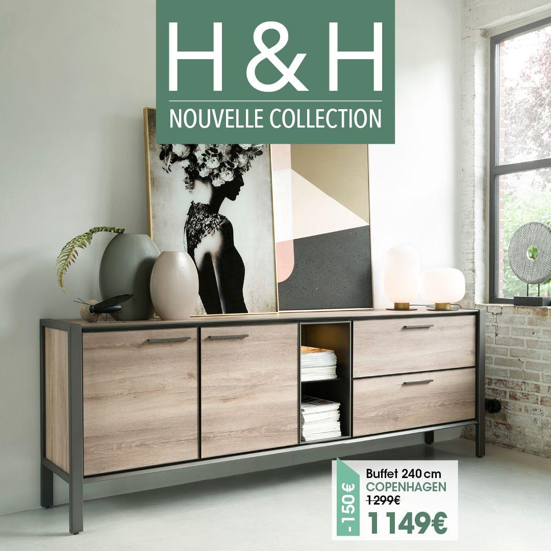 Decouvrez La Nouvelle Collection En 2020 Decoration Interieur Maison Buffet Style Industriel Deco Maison Interieur