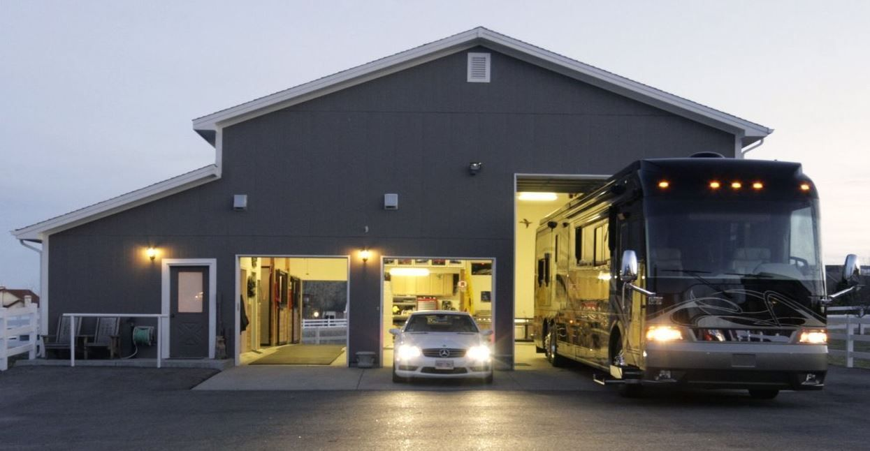 File 2600 Sq Ft Rv Garage At My House Jpg Wikimedia Building A Garage Garage With Living Quarters Garage House Plans