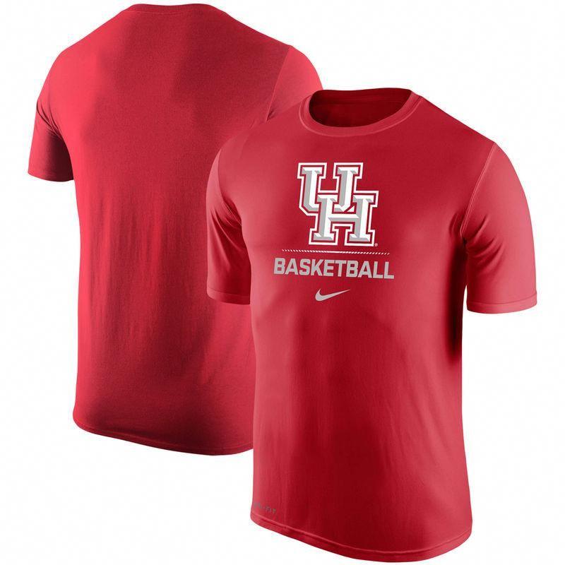 f509096d1b0 Houston Cougars Nike Basketball Sport Legend Performance T-Shirt - Red   houstonbasketball