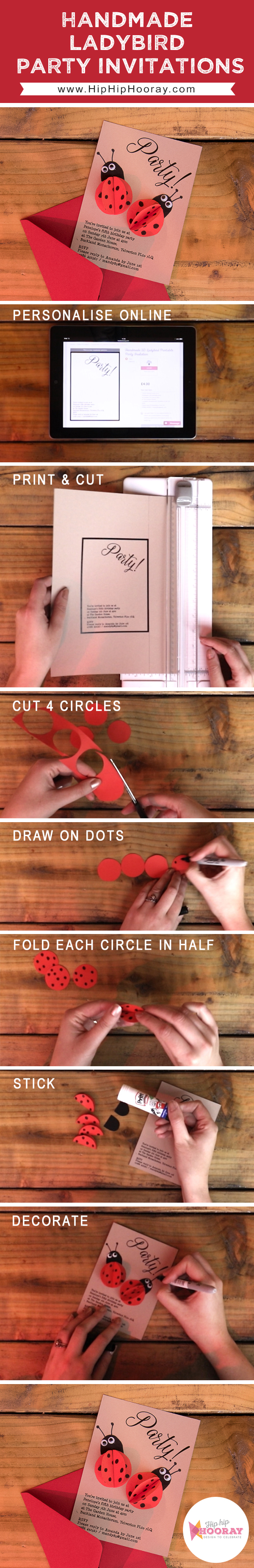 Step by step mini video showing you how to create these adorable ...