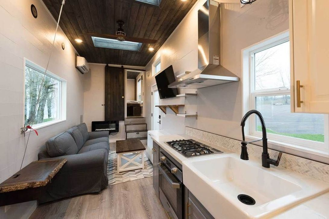 awesome tiny house interior ideas decoomo also on wheels rh pinterest