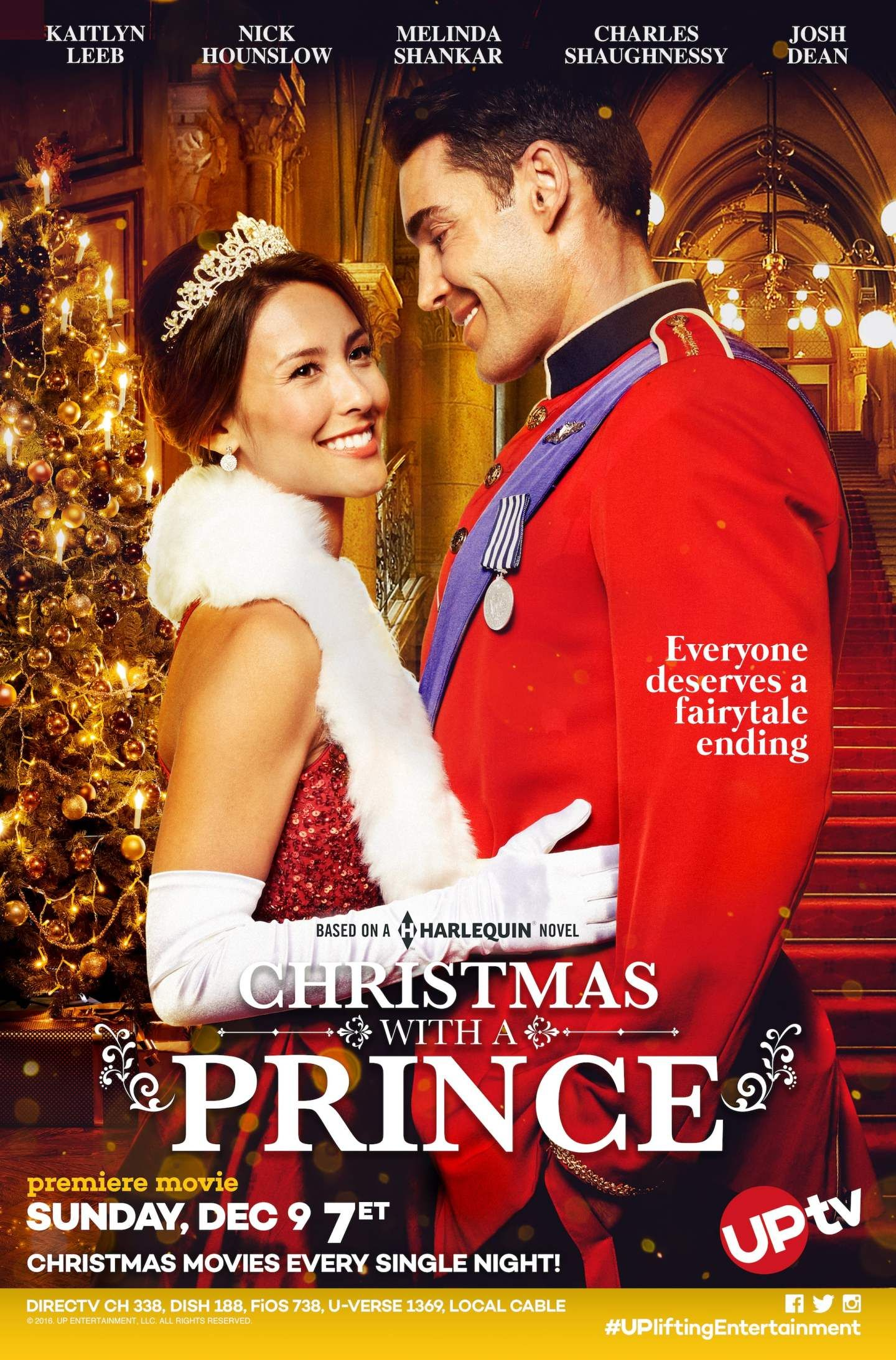 Exclusive An Interview With Kaitlyn Leeb From Uptv S Christmas With A Prince 2018 Christmas Movies On Tv Family Christmas Movies Christmas Movies