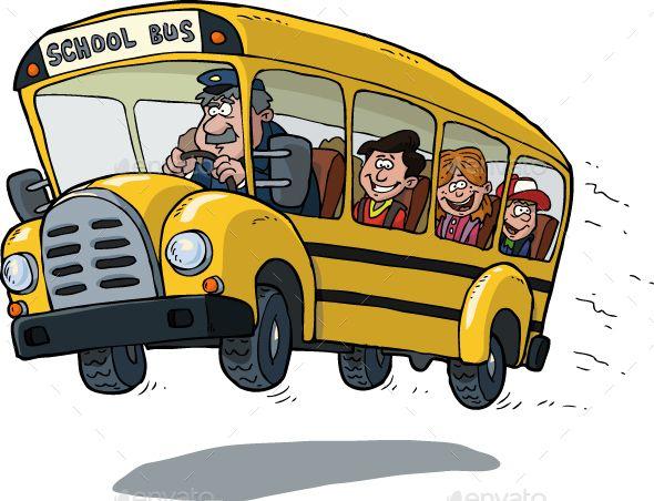 School Bus Cartoon School Bus School Bus Drawing School Bus
