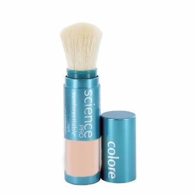 colorescience sunforgettable sunscreen powder brush spf 30