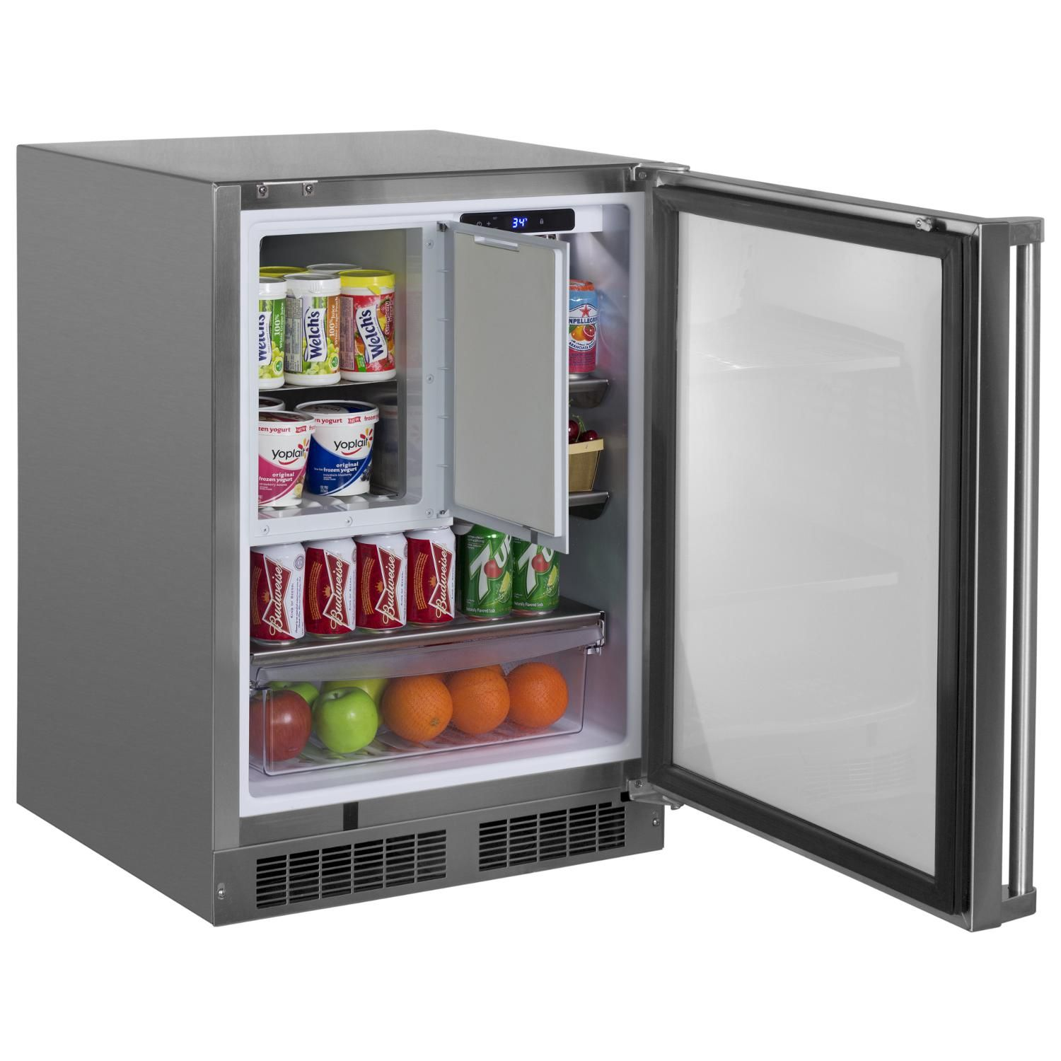 Marvel 24Inch 4.9 Cu. Ft. Left Hinge Outdoor Rated