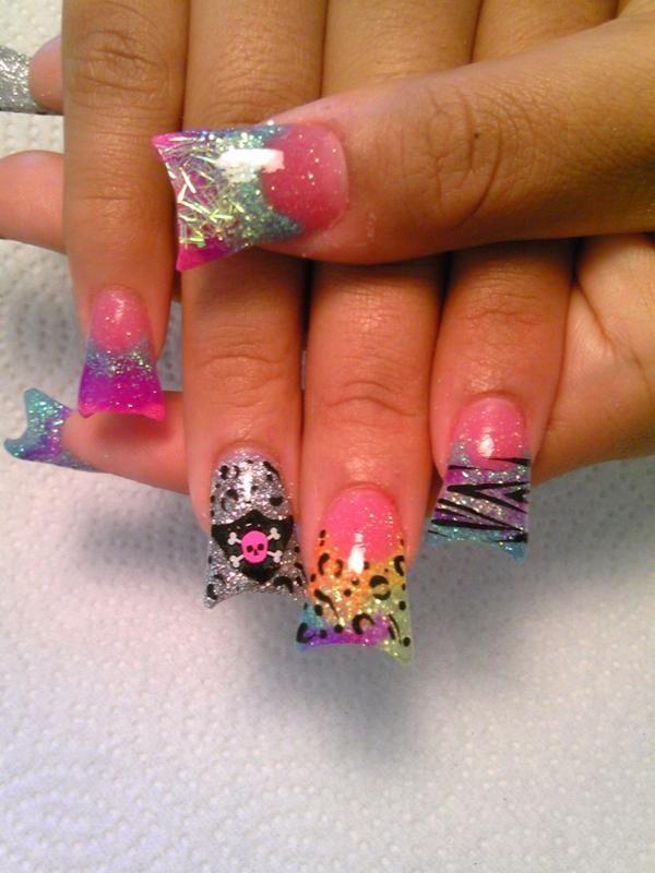 Jersey nails! | gorgeous. | Pinterest | Jersey nails, Nail nail and ...