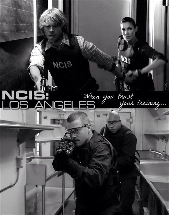 The best team! NCIS Los Angeles