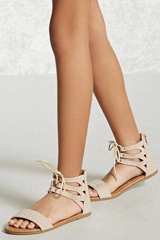 Girls Studded Sandals (Kids) | Studded