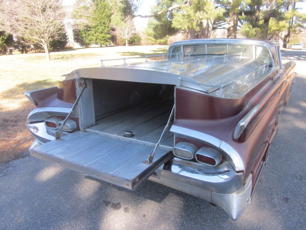 1959 Lincoln Continental Flower car Maintenance/restoration of old ...