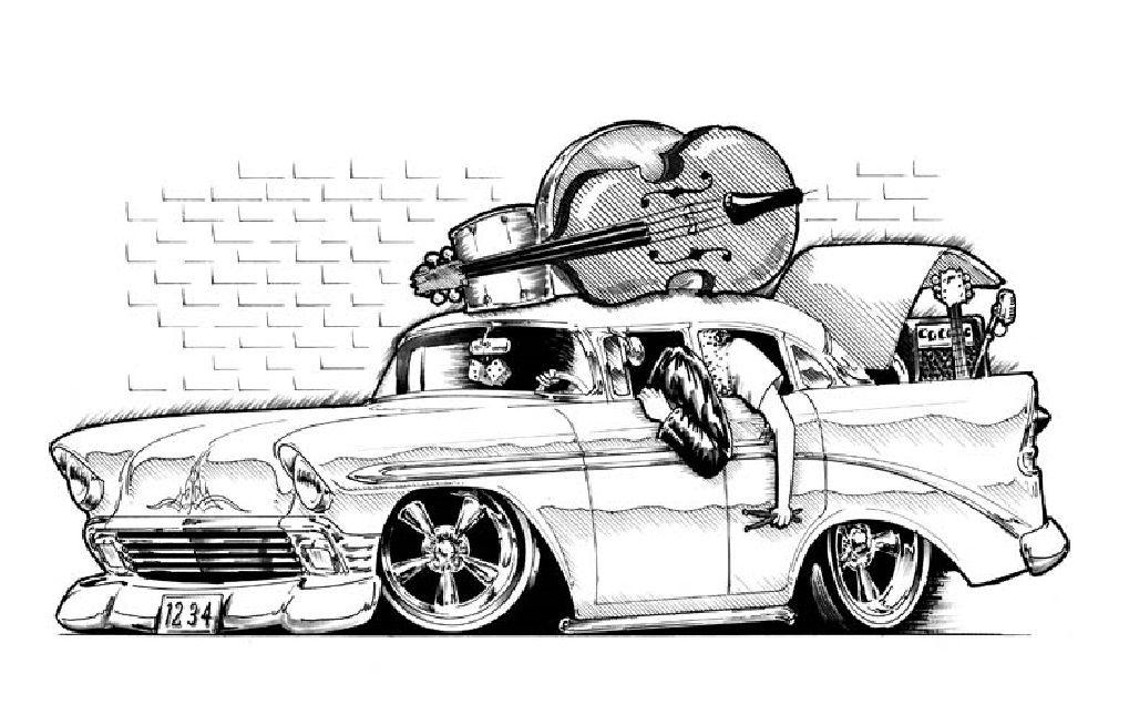 pin by bill dunn on car art