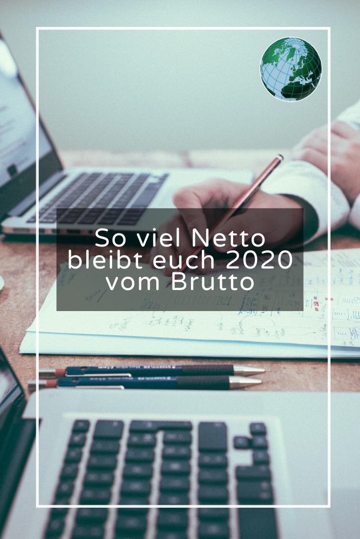 Brutto-Netto-Rechner 2020: So viel bleibt Ihnen vom Gehalt ...