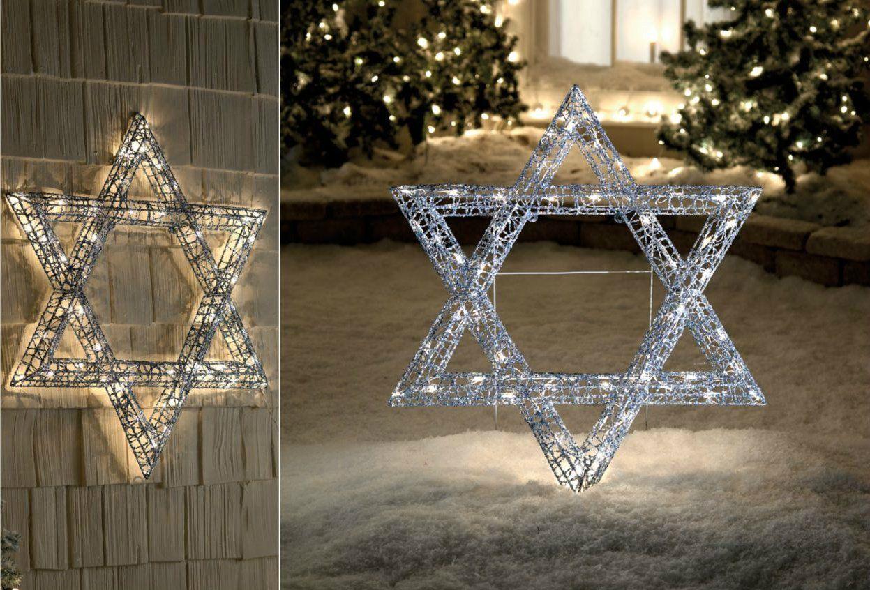 36 Star Of David Lighted Hanukkah Chanukah Passover Judaica Festival Of Candle Lights Display Hanukkah Lights Hanukkah Decorations Light Display
