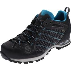 Photo of Hanwag Makra Low Lady Gtx Asphalt Ocean Damen Trekking Schuhe Hanwag