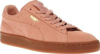 ff39923ed9a4b9 Puma Pale Pink Suede Gum Womens Trainers A 60s icon makes a return for  modern day
