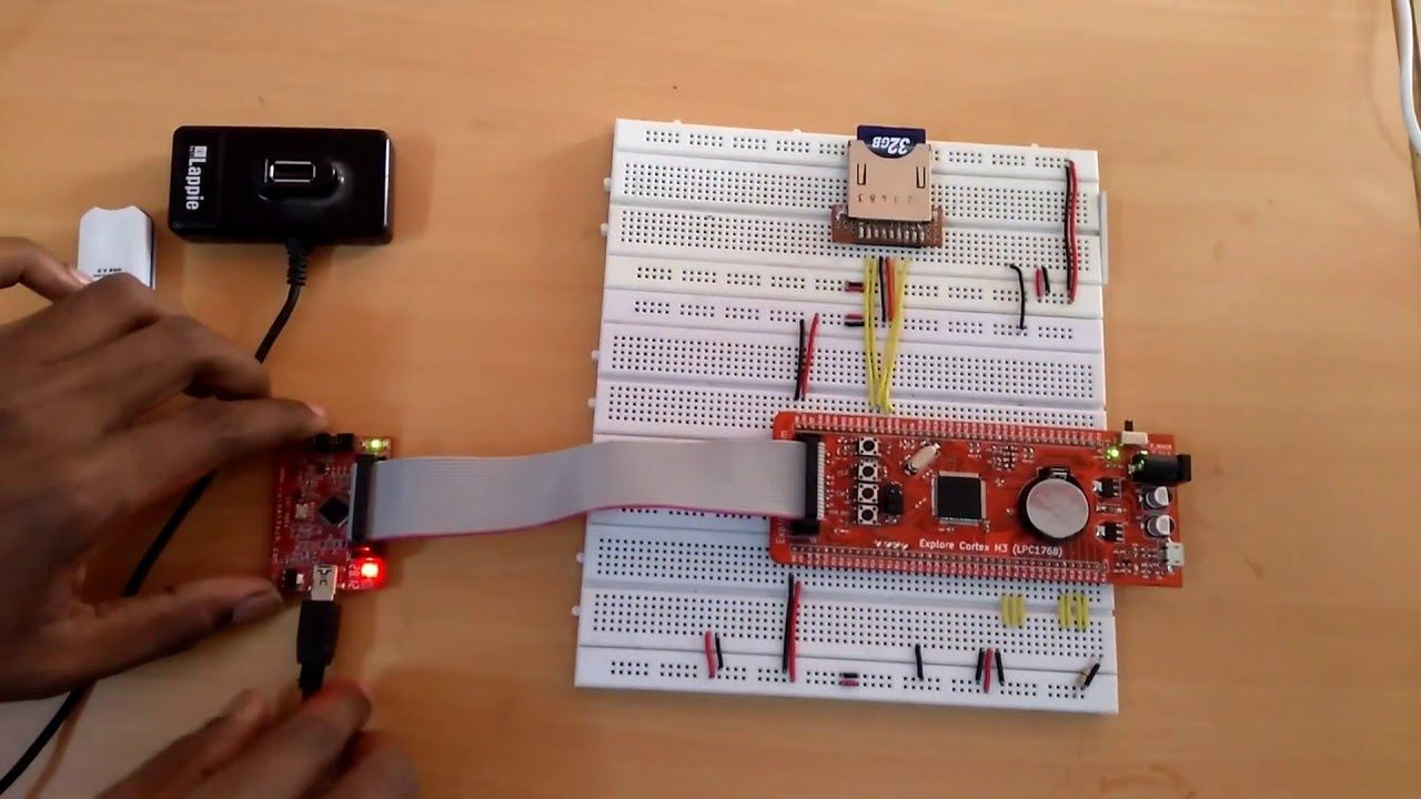 Video : SD Card interface with LPC1768 | ARM Tutorial