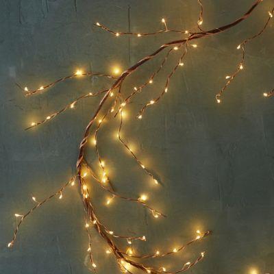 Stargazer Copper Twine Branch Light, 5' Plug-In