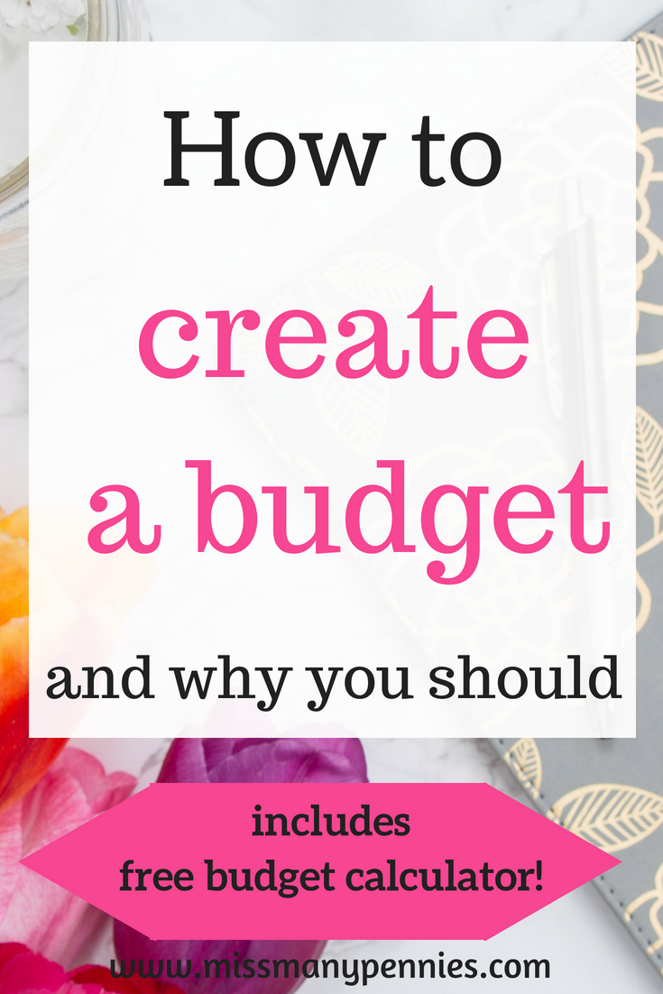 How to create a budget and stick to it Budget calculator