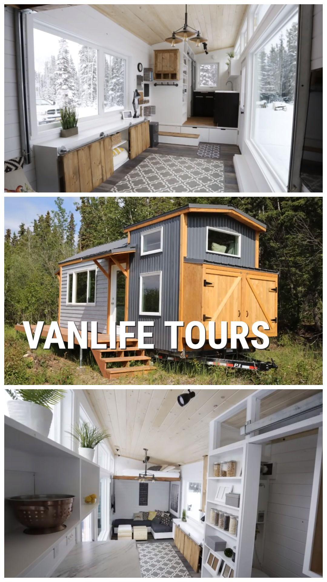 Gorgeous Tiny House Built By Jacob And Ana White Sleeps