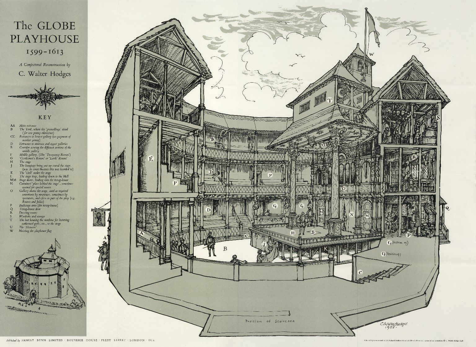 Hodges conjectural globe reconstruction globe theatre wikipedia hodges conjectural globe reconstruction globe theatre wikipedia the free encyclopedia malvernweather Image collections