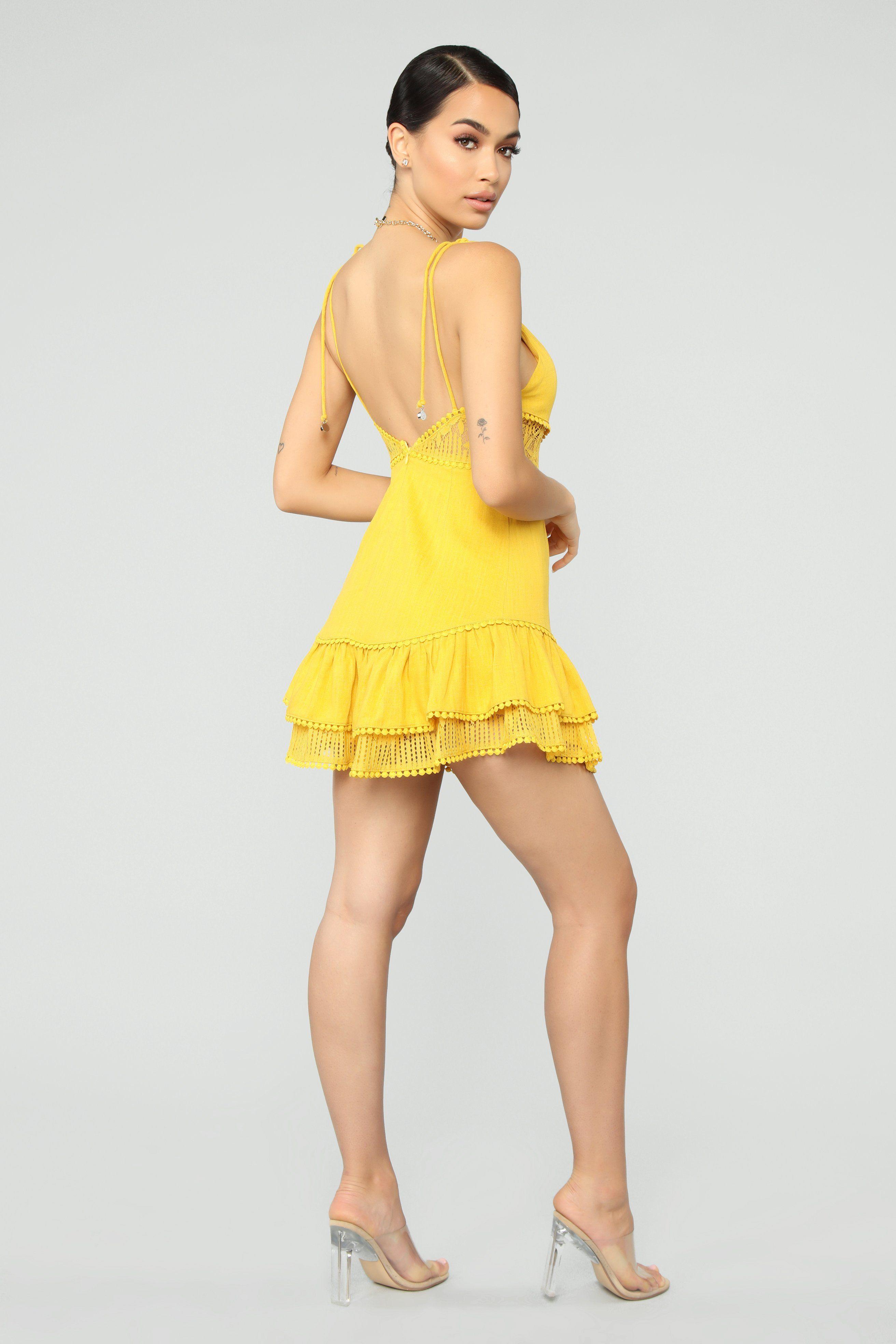 Fashionnova Time To Explore Dress Mustard Dresses Fashion Fashion Nova Models [ 3936 x 2624 Pixel ]