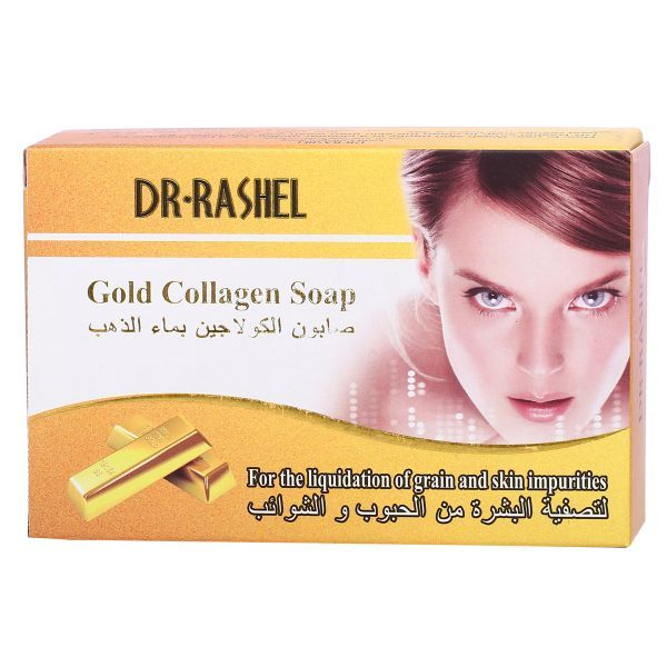 Dr Rashel Gold Collagen Soap 100 Gram Price Review And Buy In Dubai Abu Dhabi And Rest Of United Arab Emirates Souq Com Collagen Soap Face And Body