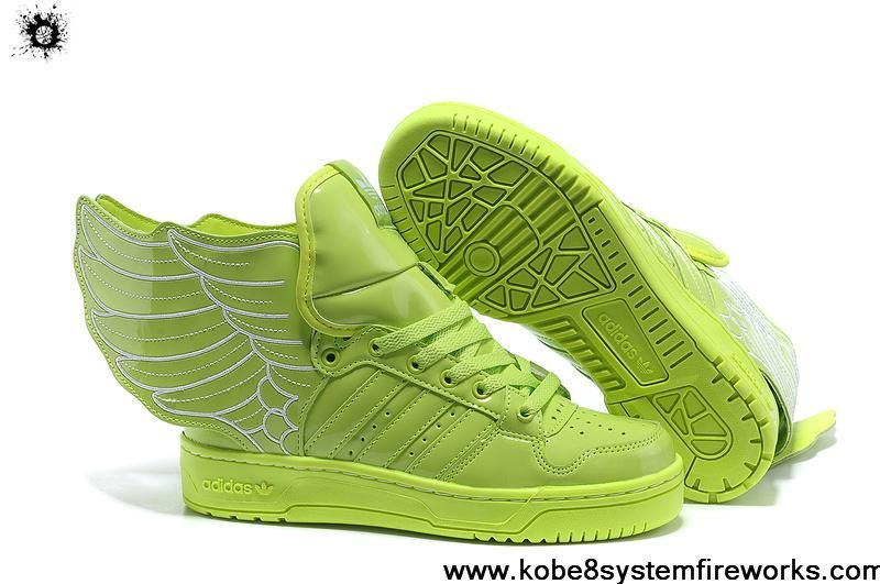 Buy Adidas Jeremy Scott Wings 2.0 Womens Lime Green G44396