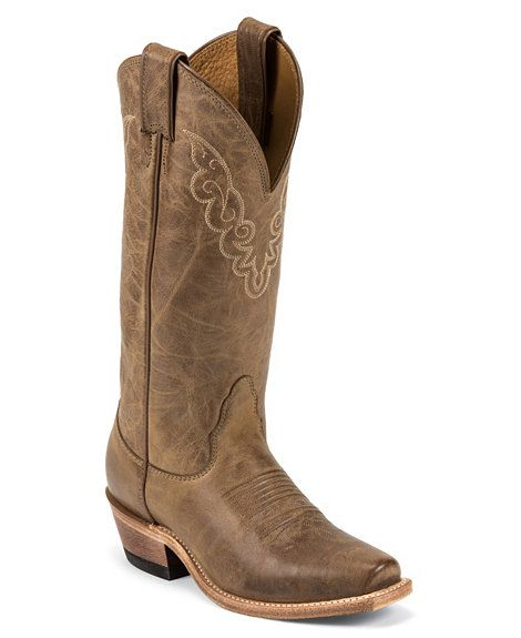Nocona Cowgirl Boots Square Toe Shoes Womens Cowgirl