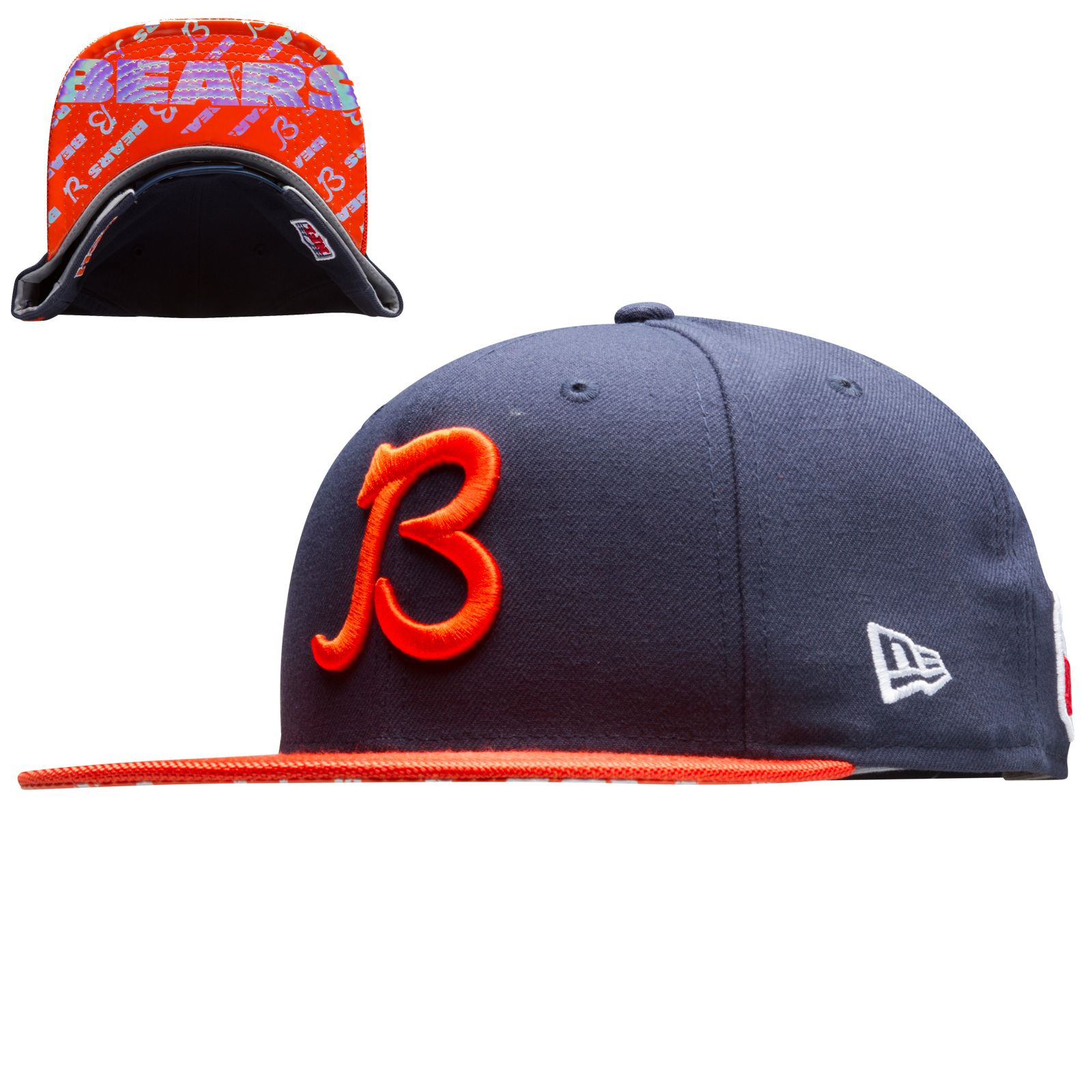 a86deb073cddca Chicago Bears Navy and Orange