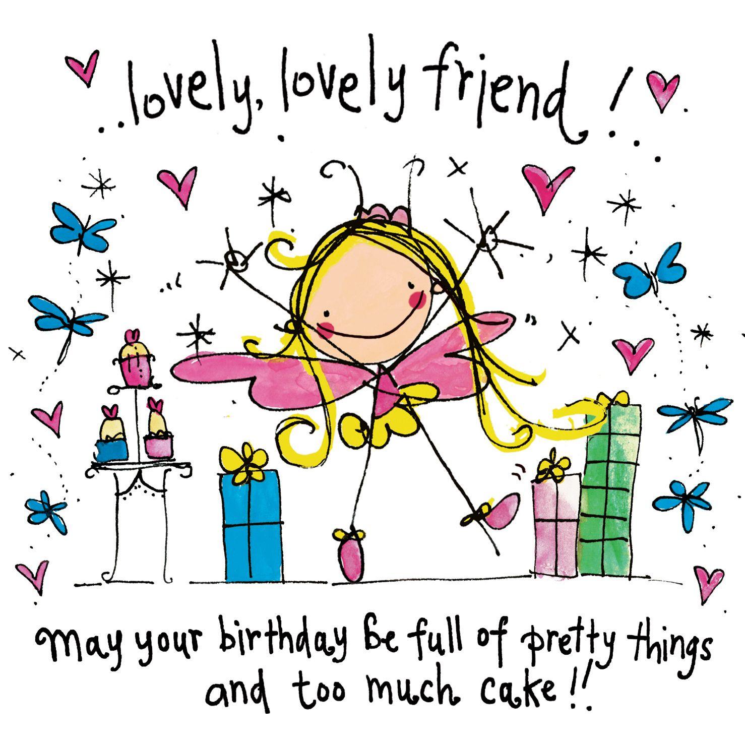 Happy Birthday Friend, Happy