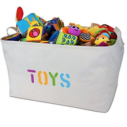 Toy Storage Ideas Organizerlogic Storage Baskets 22a X 15a X 13a Extra Large Woven Basket Storage Fo Toy Storage Canvas Toy Storage Toy Storage Bins