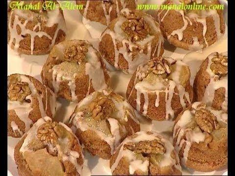 كيكات التفاح الصغيرة منال العالم Recipes Sweets Food
