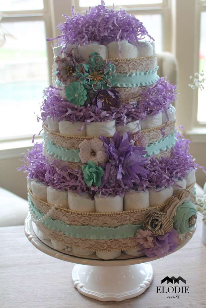Shabby Chic Baby Shower Party Ideas Girl Baby Shower Decorations