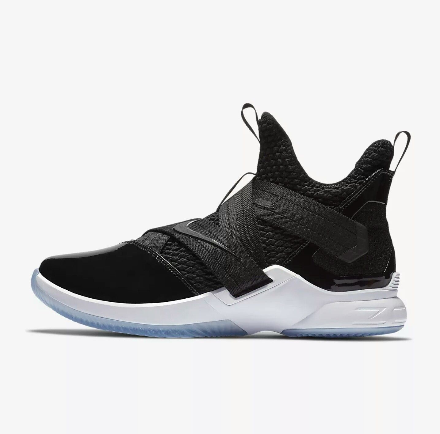 best sneakers ad3b4 6cd31 Lebron soldier 12 black Tuxedo. Lebron soldier 12 black Tuxedo Nike  Basketball Shoes ...