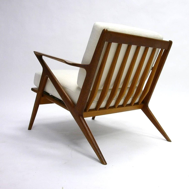 Poul Jensen For Selig U0027u0027Zu0027u0027 Lounge Chair With New Upholstery